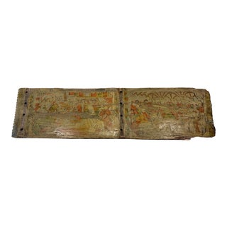 Antique Italian Wooden Wall Art For Sale