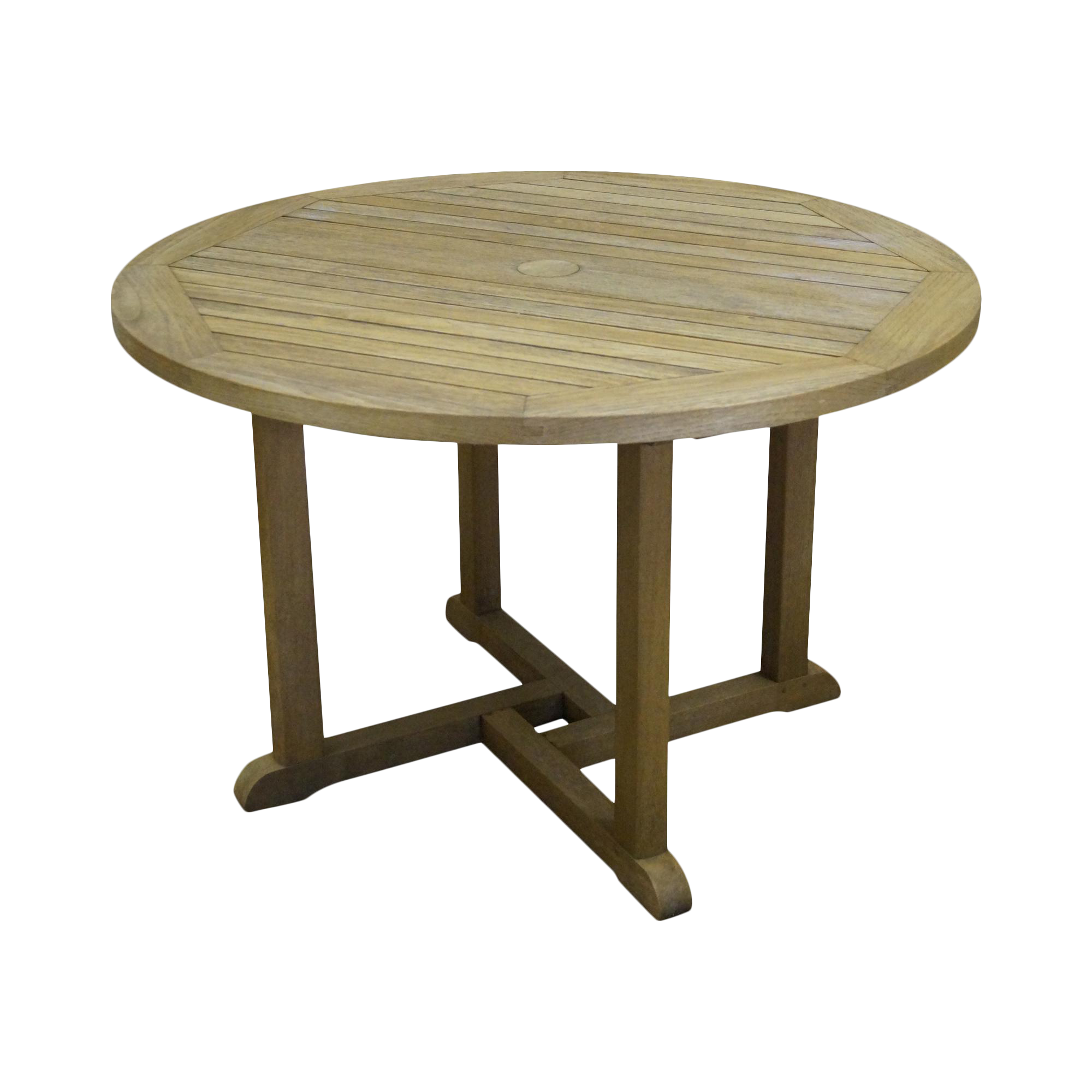 Barlow Tyrie Teak Outdoor Waveney Round Dining Table