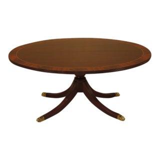Henkel Harris Oval Mahogany Coffee Table
