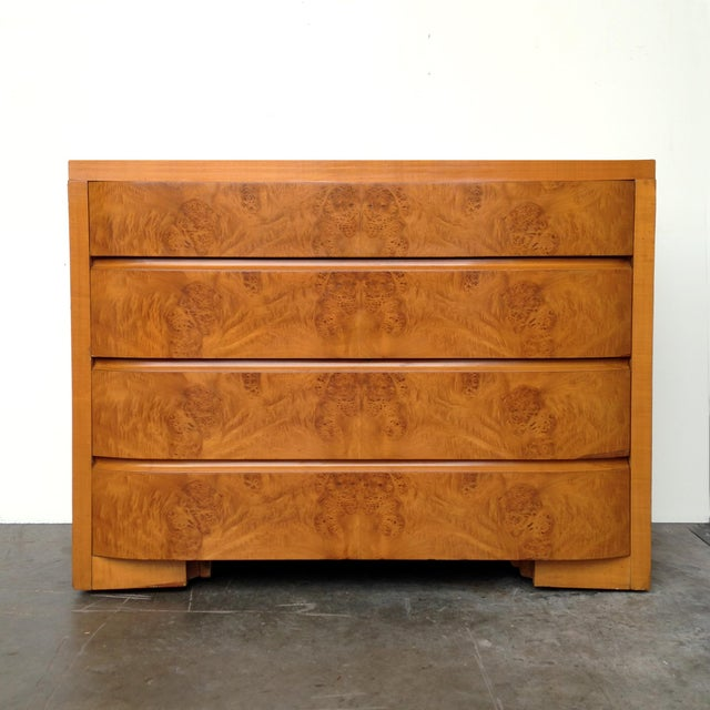 Art Deco Burl Wood Dresser - Image 2 of 5