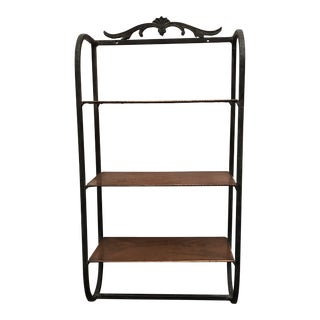 Metal Frame + Copper Wall Shelf