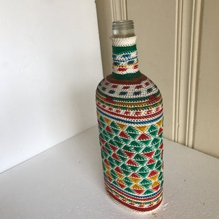 Boho Wrapped Bottle Vase Preview