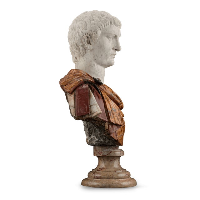 17th-Century Italian Portrait Busts For Sale - Image 9 of 11