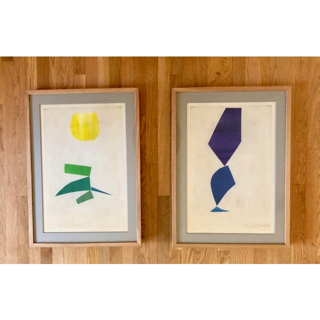 Susan Hable Collages - A Pair For Sale - Image 9 of 9