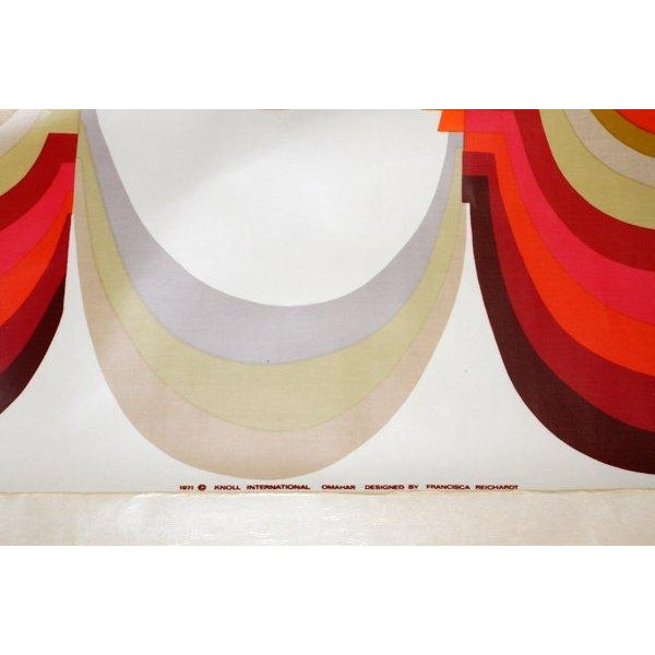 "1971 Mid-Century Knoll Wall Panel, ""Omahar"" - Image 3 of 8"