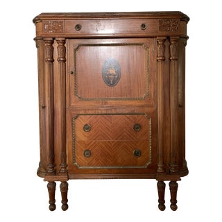 Early 20th Century Dresser With Secret Drawer For Sale