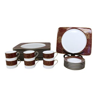 Savoir Vivre Dishes - Set of 24