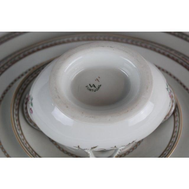 Vista Alegre Platters & Gravy Boat - Set of 6 For Sale In New York - Image 6 of 8