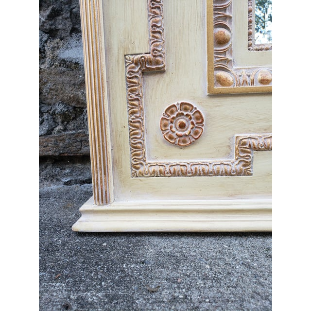 VintageFrench Provincial Style Mirror For Sale - Image 9 of 13