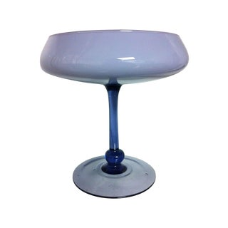 Rossini Periwinkle Cased Compote For Sale