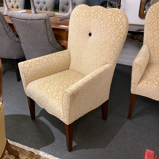 2010s Decorators Walk John Oetgen Collection Chairs - a Pair For Sale - Image 5 of 12