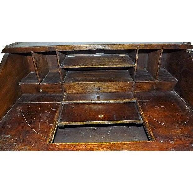 English Jacobean Oak Desk on Stand - Image 5 of 8