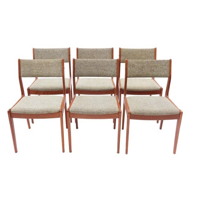 Scandinavian Danish Modern Teak Dining Chairs- S/6 - Image 2 of 10