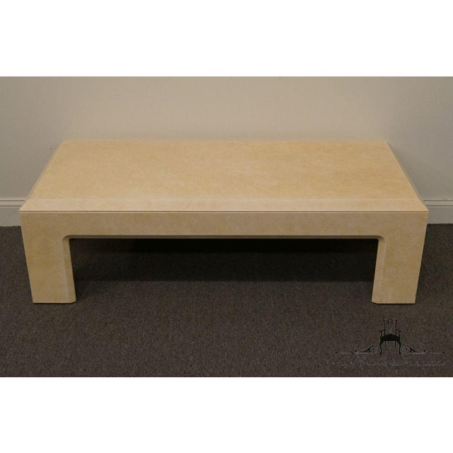 """LANE FURNITURE Contemporary Style 54"""" Coffee Table 16.5"""" High 54.25"""" Wide 24.25"""" Deep We specialize in High End Used..."""