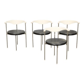 Frederik Sieck for Fritz Hansen Chairs - Set of 4 For Sale