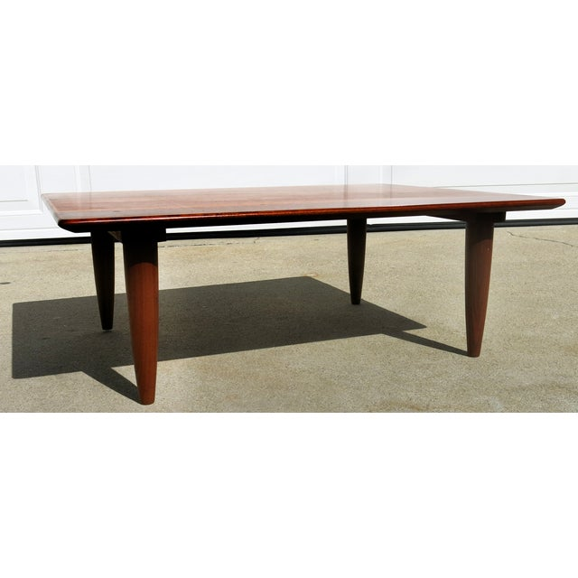 Mid-Century Low Coffee Table - Image 4 of 6