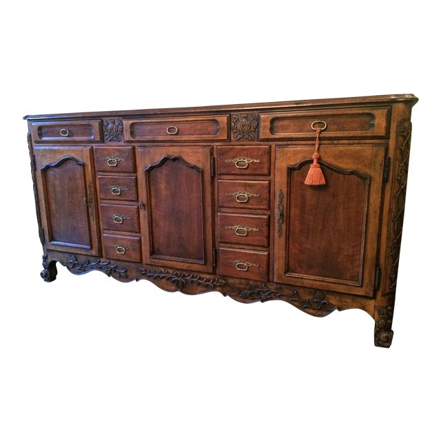 Mount Airy Furniture Co. French Provincial Sideboard Buffet For Sale