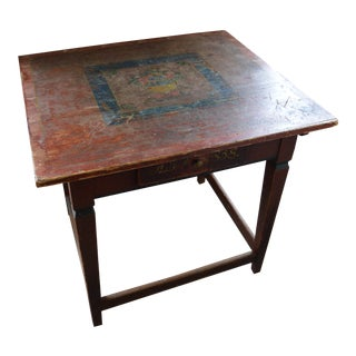Antique Original Paint French Table For Sale