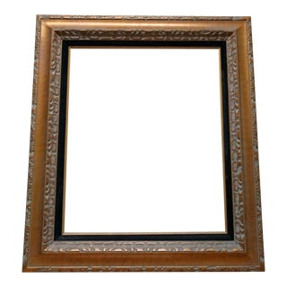 1960s/1970s Vintage Mexican Carved Wood Frame For Sale