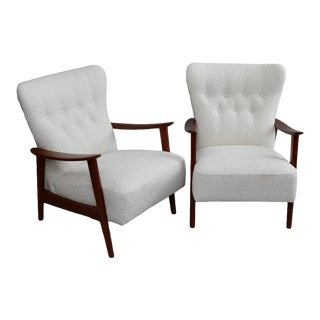 Aksel Bender Madsen Armchairs - A Pair For Sale