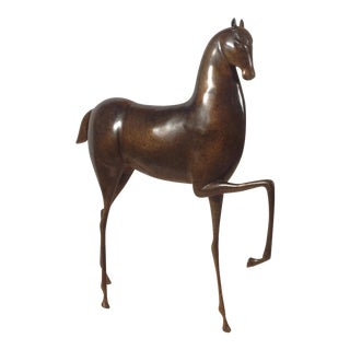 Etruscan-Style Bronze Horse