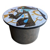 Image of Artisan Midcentury Modern Mosaic Table For Sale
