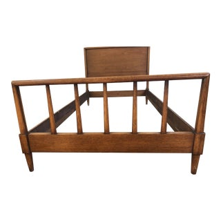1960's Mid-Century Modern Henredon Circa '60 Line Twin Bedframe For Sale