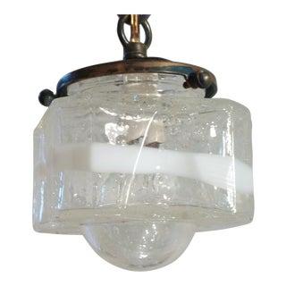 Murano Glass Pendant Light For Sale