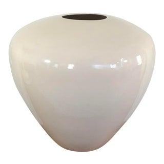 Vintage Jaru Pottery Lamp in White Ceramic For Sale