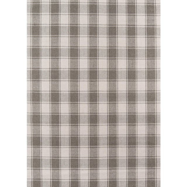 """Textile Erin Gates by Momeni Marlborough Charles Grey Hand Woven Wool Area Rug - 3'6"""" X 5'6"""" For Sale - Image 7 of 8"""