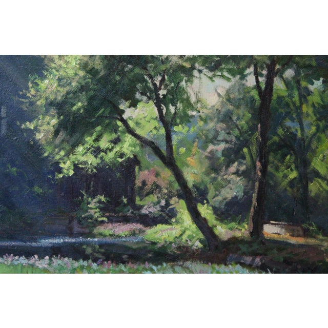Caddell Spring Forest Painting by Foster Caddell For Sale - Image 4 of 7