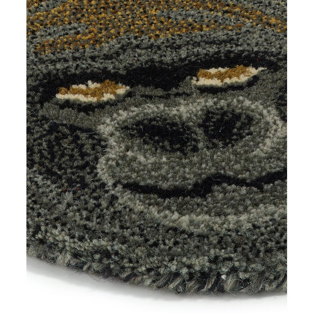 Shabby Chic Doing Goods Groovy Gorilla Rug Large For Sale - Image 3 of 6