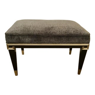 "Caracole Art Deco ""Beauty Mark"" Bench For Sale"