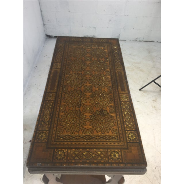 1930's Moroccan Game Table For Sale - Image 4 of 6