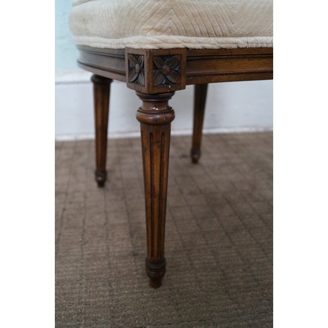 Karges Walnut French Style Walnut Dining Chair - 4 - Image 7 of 10