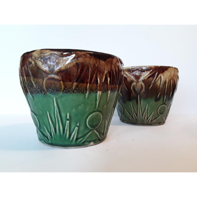 1940s Art Deco Art Pottery Planters - A Pair - Image 2 of 5