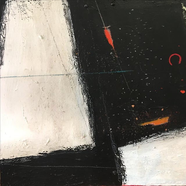 Large Abstract Expressionist Painting - Image 5 of 9