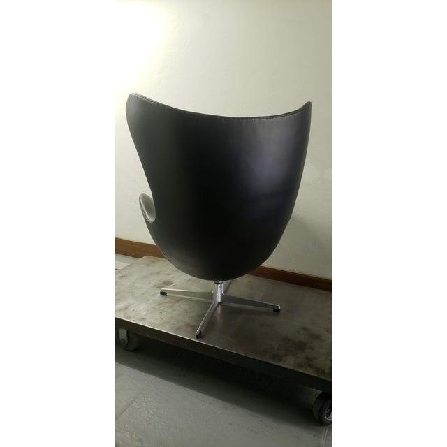 1950s Vintage Original Arne Jacobsen Egg Chair Chairish