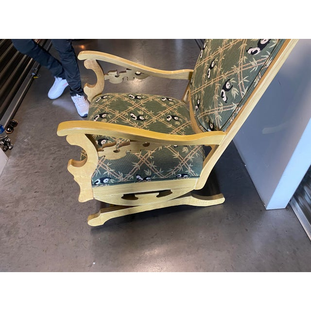 Late 19th Century 19th Century Refinished Rocking Chair For Sale - Image 5 of 10