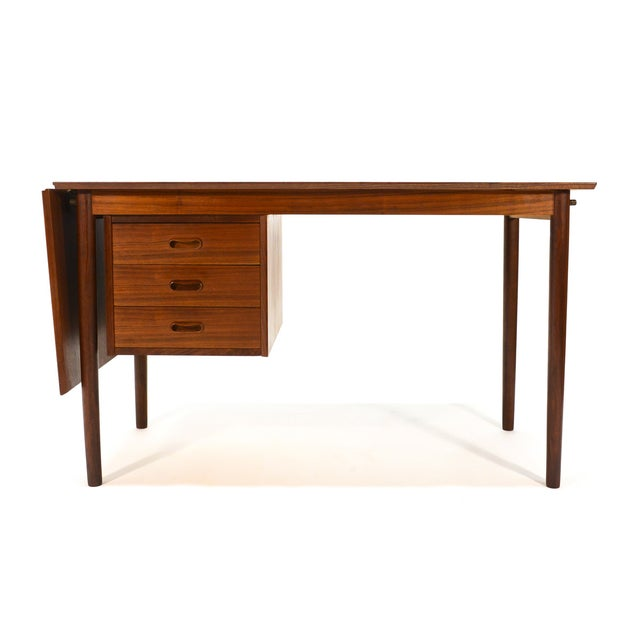 Arne Vodder for H. Sigh & Sons Drop-Leaf Desk - Image 7 of 8