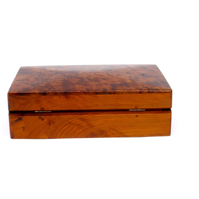 Decorative Juniper Burl Wood Box - Image 7 of 7
