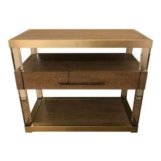 Hickory White Argon Nightstand For Sale