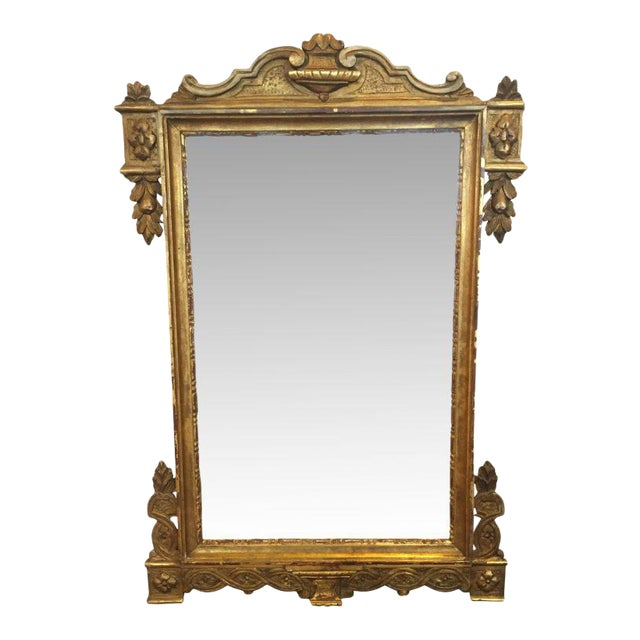Vintage Italian Gilded Mirror - Image 1 of 5