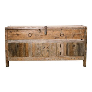 Primitive Style Credenza For Sale
