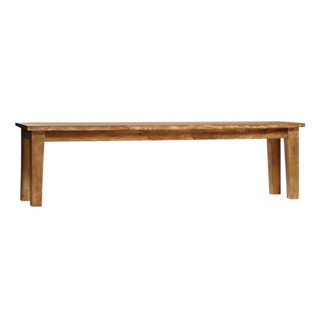 Simple Hardwood Bench For Sale