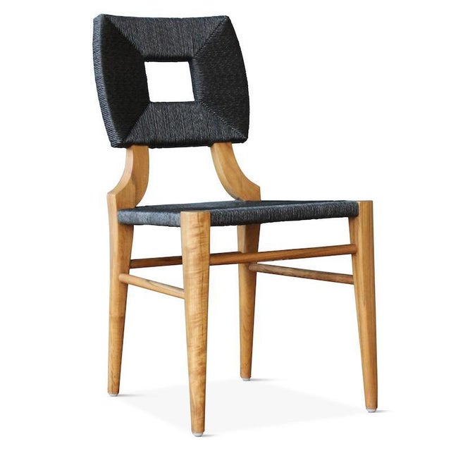 Our best-selling How to Marry a Millionaire dining chair is now available in an outdoor version! Hand-crafted with a teak...