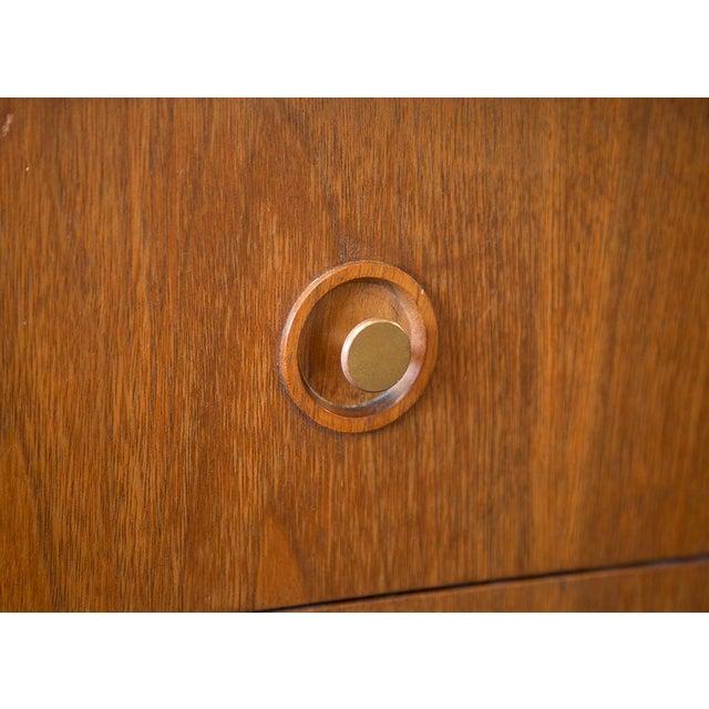American of Martinsville Walnut Diamond Front Dresser - Image 9 of 10