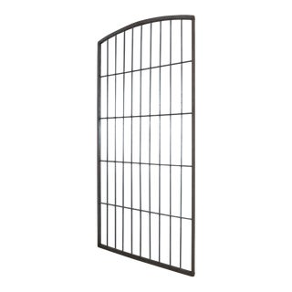 Antique Industrial Mirrored Iron Windows For Sale