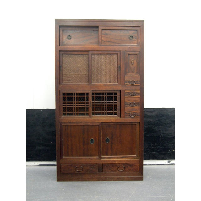 Antique Japanese Scholar's Tansu Cabinet For Sale - Image 13 of 13 - Antique Japanese Scholar's Tansu Cabinet Chairish