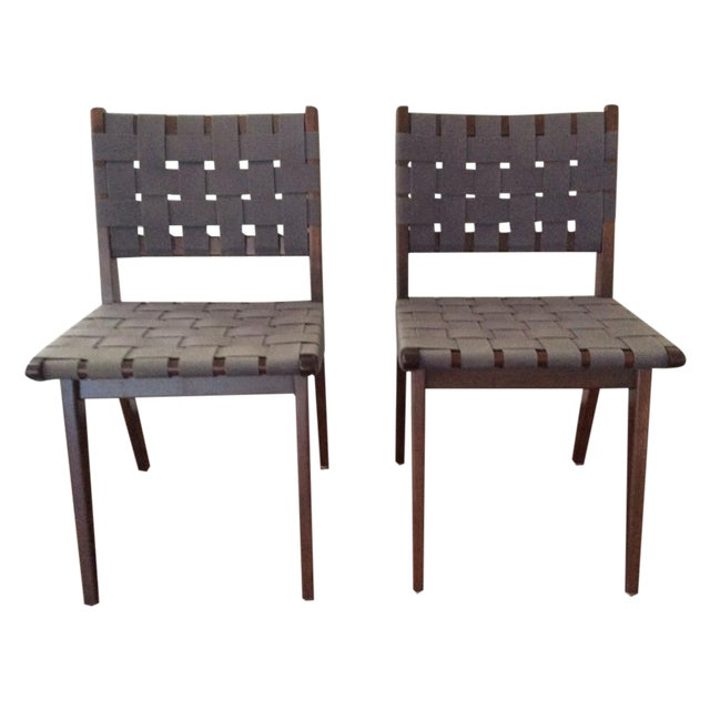 Knoll Studio Jens Risom Side Chairs - A Pair - Image 1 of 11